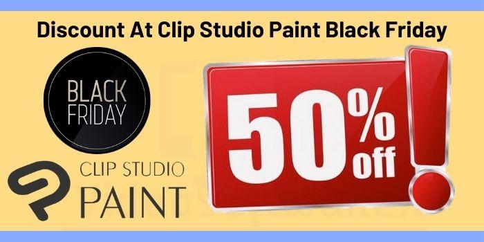 Discount At Clip Studio Paint Black Friday