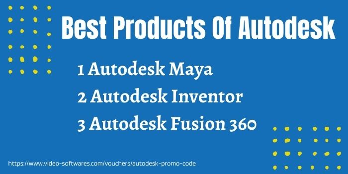 Autodesk best products