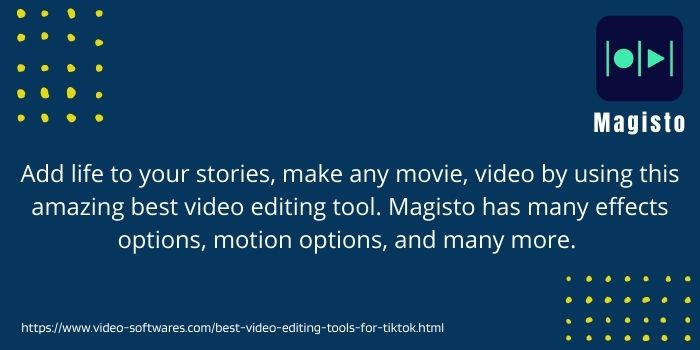 Magisto the top video editing tool for tiktok