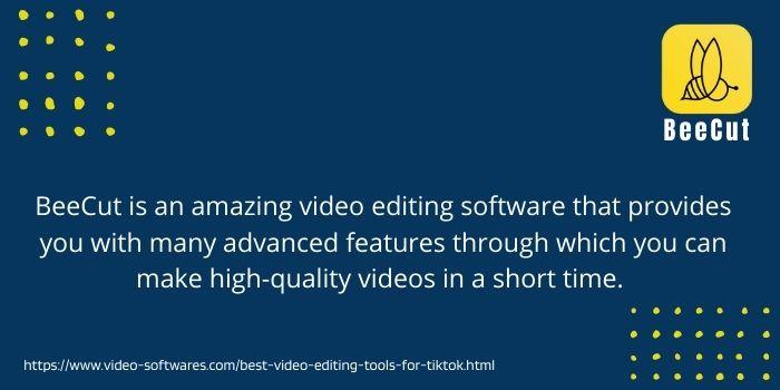 beecut the best video editing tool for tiktok